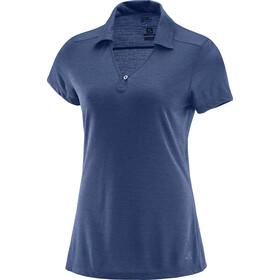 Salomon Ellipse Shortsleeve Shirt Women blue